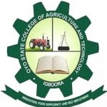 Oyo State College of Agriculture and Technology, Igboora Job Recruitment Form