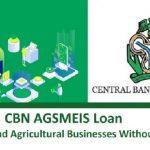 AGSMEIS Loan Application Scheme