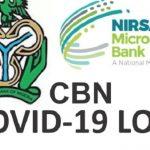 NMFB Loan Registration Portal 2021 CBN COVID-19 Loan Application Form