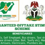 Survival Fund Guaranteed Off Take Fund Stimulus Scheme