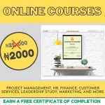 DoviLearn offers N2000 for any online course plus free Certificate of Completion to BOOST your career: ENDING SOON
