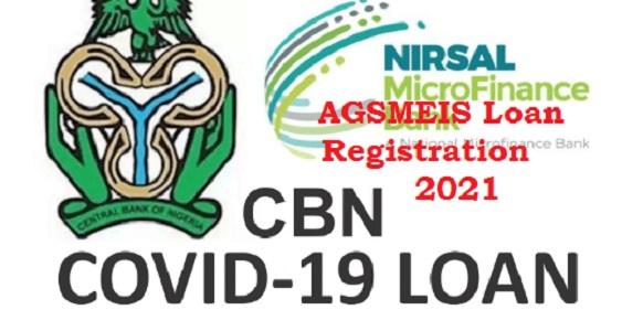 AGSMEIS Loan Registration 2021 New Portal is open- NMFB AGESMEIS Loan